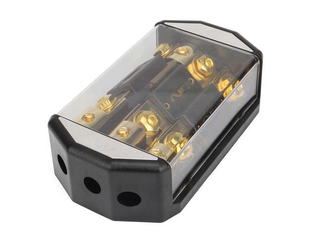Gold Plated Car Circuit Automotive Fuse Box Block Holder For