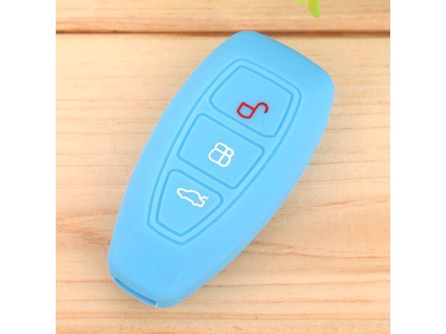 Reliable Quality Soft Silicone Auto Car Remote Key Chain