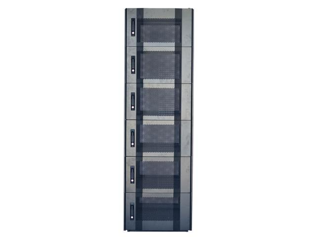 Dsi 1642 42u Six Compartment Colocation Server Rack