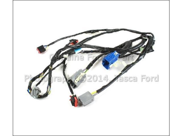 OEM Ac Evaporator Case Wiring Harness 2009-2010 Ford F150