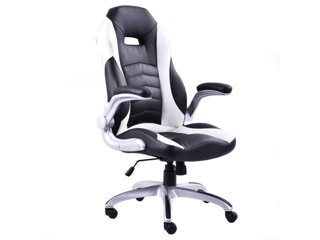 Pu Leather Executive Racing Style Bucket Seat Office Desk