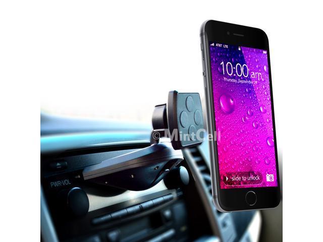 Mintcell Magnetic Cradle Less Smartphone Car Holder Car