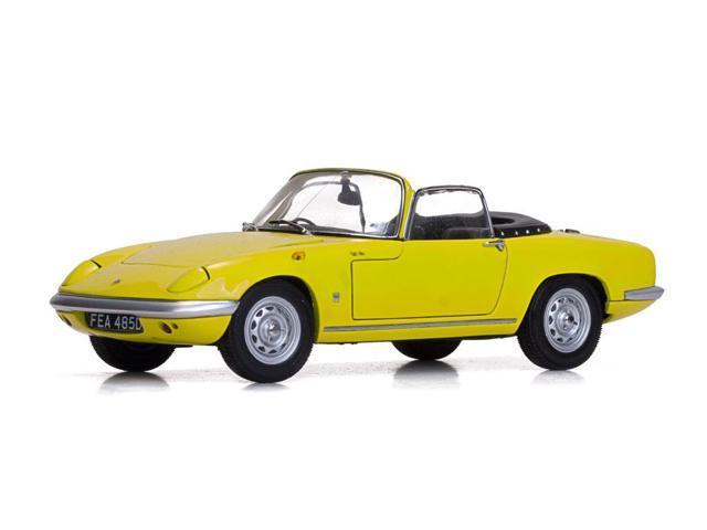 1966 Lotus Elan Se Roadster Yellow 1 18 Diecast Model Car