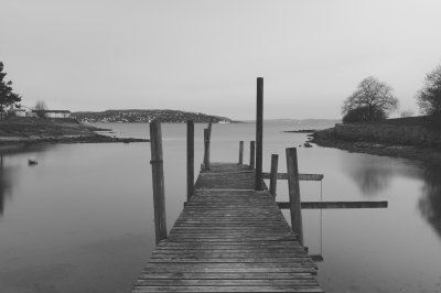 grayscale photo of dock on body of water free image | Peakpx