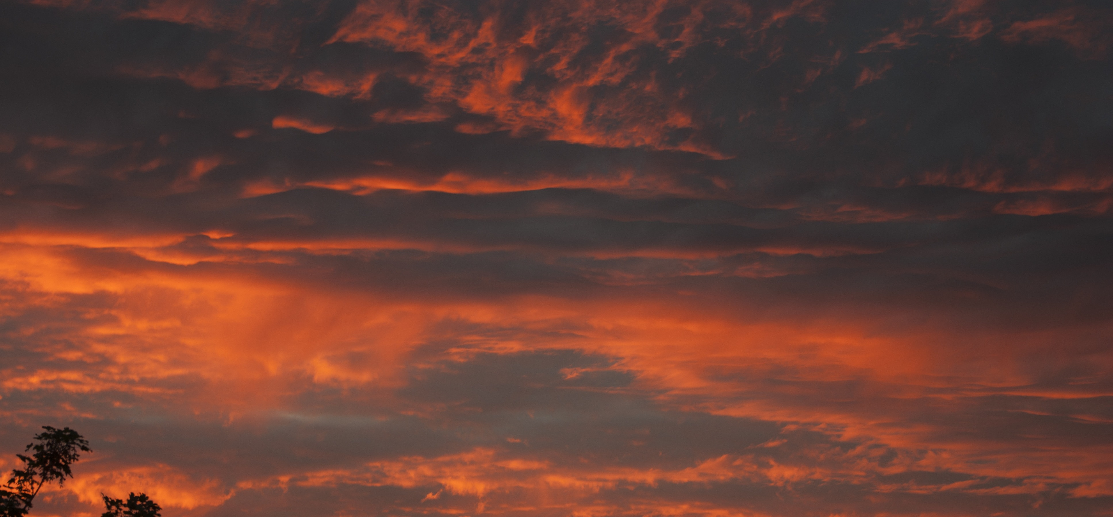 Orange Color Wallpaper Hd Gray And Orange Cloudy Dark Sky Free Image Peakpx