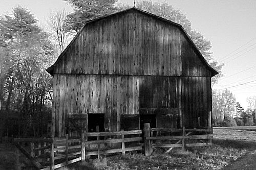 3d World Wallpaper World Vintage Barn Taken With A Digital Camera In B Amp W Mode To