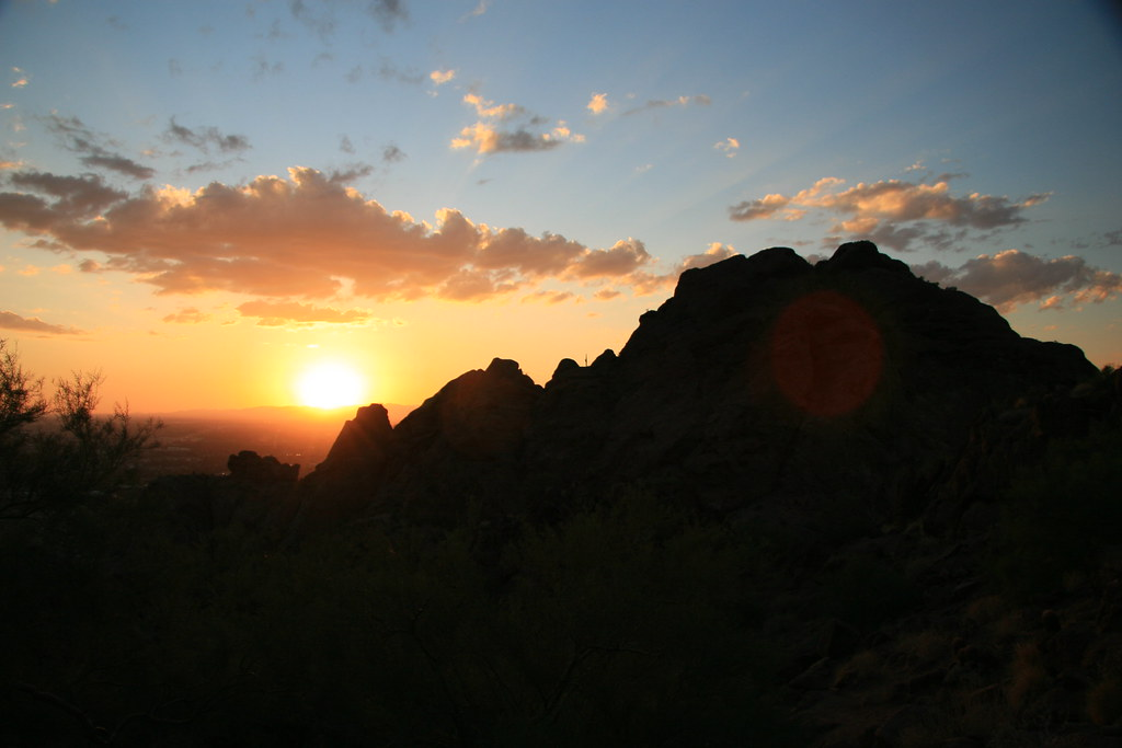 Phoenix Wallpaper Hd 3d Sunset Over Camelback Mountain Sunset Over Camelback