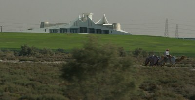 Sheik's palace in Dubai (Nad Al Sheba) | Karl Drilling ...