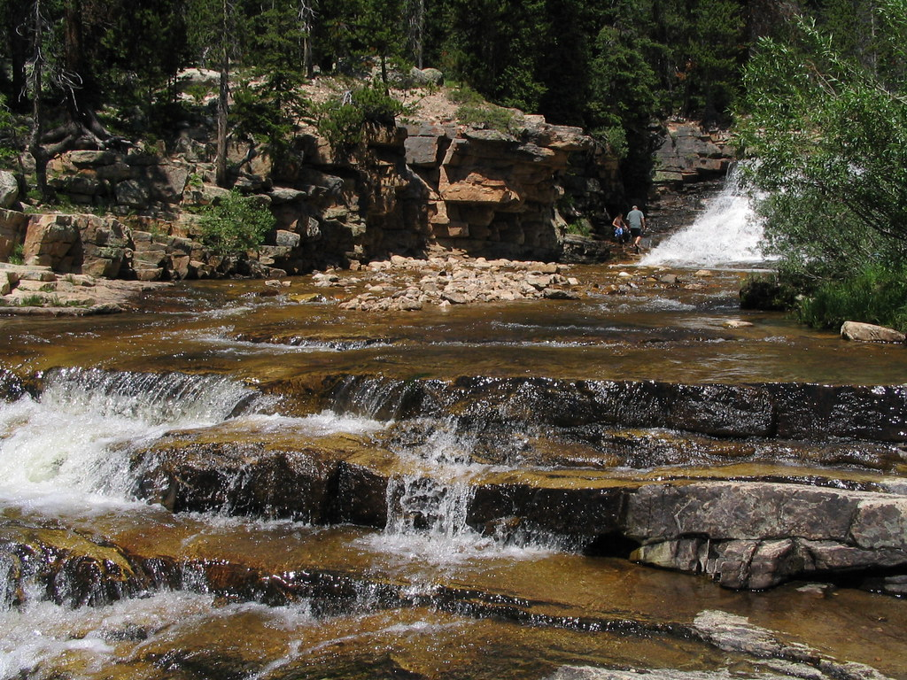 Www 3d Name Wallpaper Upper Provo River Falls High Uinta Mountains Utah Flickr