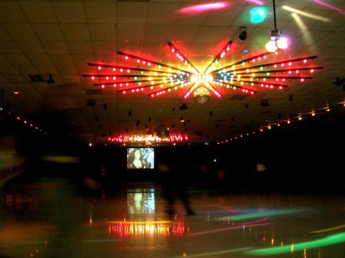 3d Crystal Wallpaper Roller Skate Rink Lights Rohnert Park Ca Brian