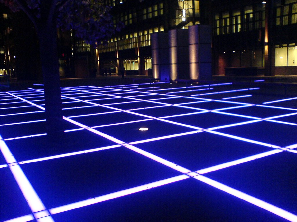 Light Up The Floor Broadgate Floor Lights Near Liverpool Street These