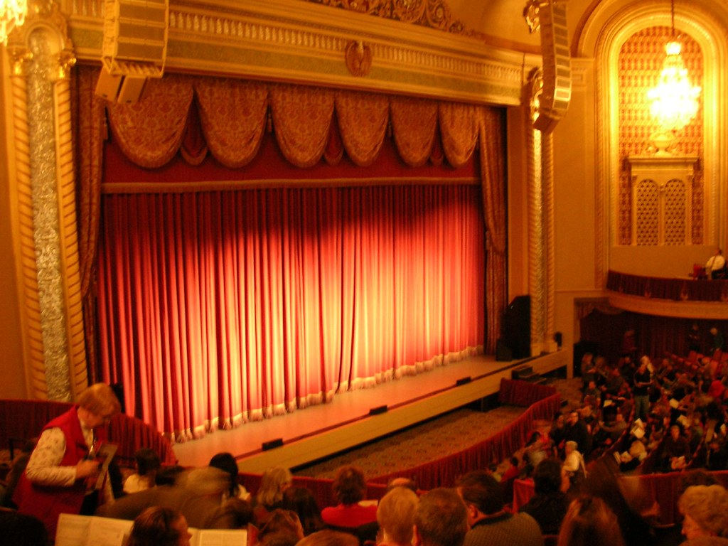3d Palace Wallpaper Genesee Theatre Stage Richie Diesterheft Flickr