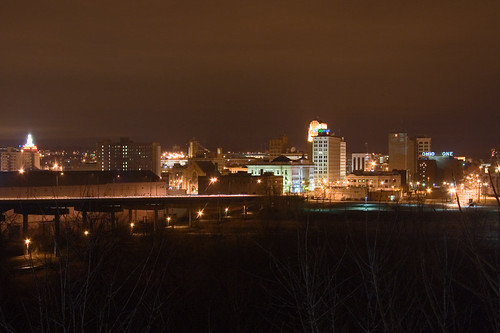 Good Night 3d Wallpaper Downtown Youngstown Skyline At Night It S Hard To Get A
