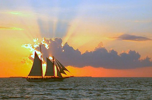 3d Wallpaper Ship Sunset In Key West I Love This Shot I Took It From Fort
