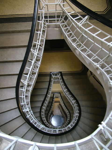3d House Wallpaper Prague Stairs Inside The House Of The Black Madonna Flickr