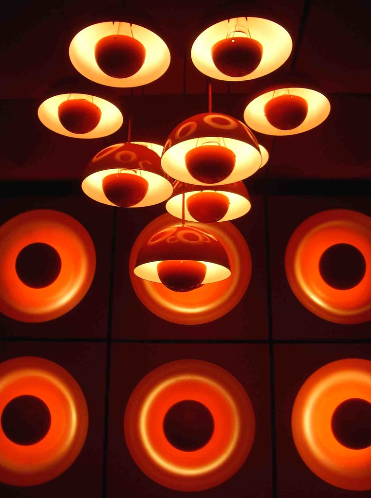 spiegel kantine canteen at the spiegel, by verner panton su2026 Flickr - designer kantine spiegel magazin