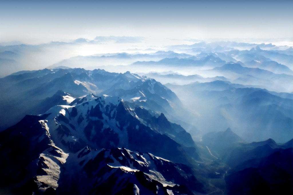 Black And White Geometric Wallpaper Mountains From Sky Alps Swiss And Italy Alpi Svizzer