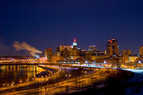 Note 8 3d Wallpaper St Paul Minnesota St Paul Skyline St Paul At Night S