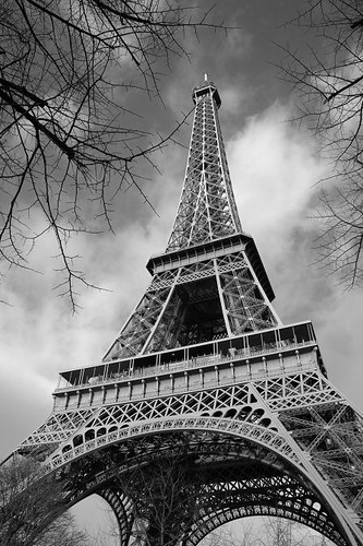 Freddy Krueger Wallpaper 3d Tour Eiffel In Black Amp White This Is One Of My Favourite