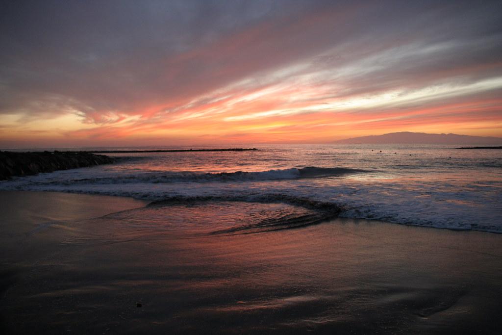 3d Nature Wallpaper For Desktop Full Size Fanabe Beach Sunset 3 Sunset Day 1 Fanabe Beach