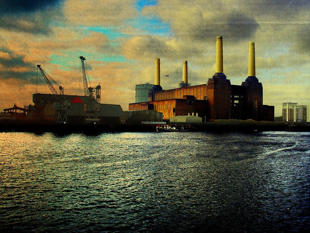 Pink Floyd Animals Wallpaper Other Side Of Battersea Power Station Tribute To Pink Flo
