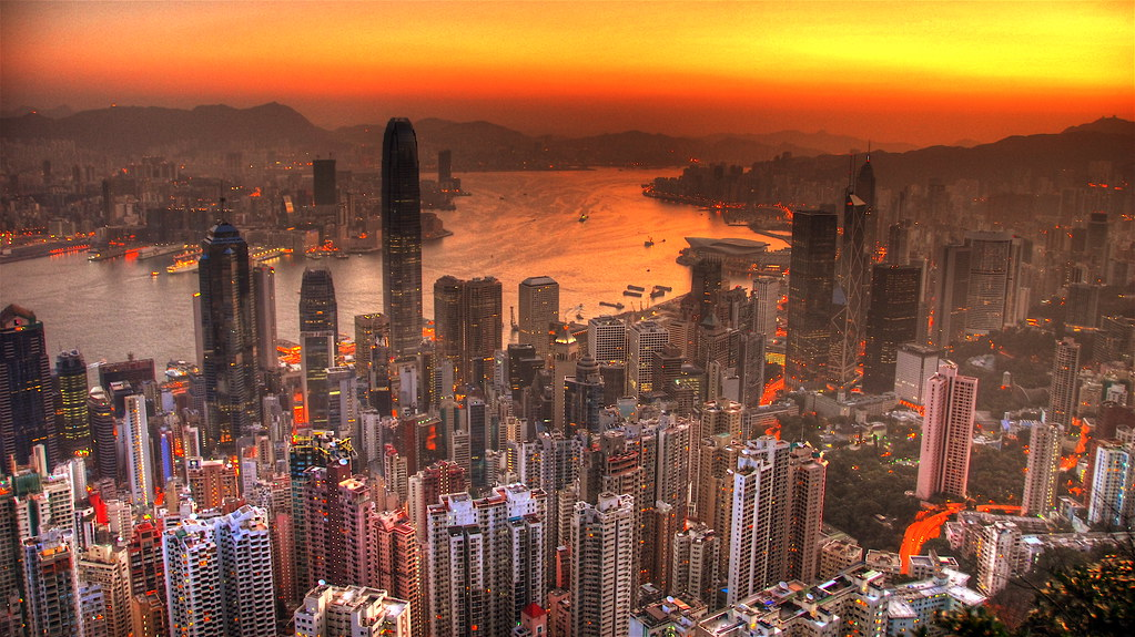 Skyscraper Wallpaper Hd Hong Kong Dawn Greetings From Hong Kong A View Of Hong