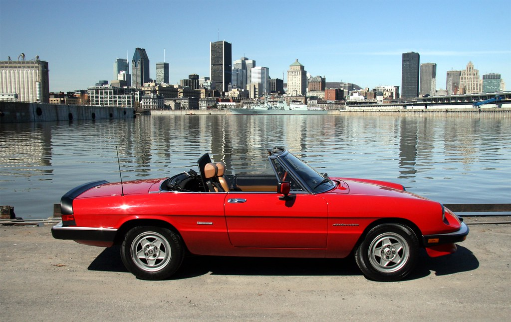 3d Spider Wallpaper 1986 Alfa Romeo Spider Veloce Montreal Qu 233 Bec Wally