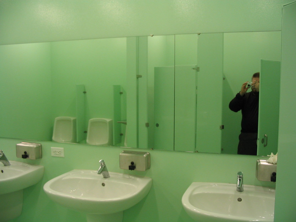 Bathroom Mirrors Seattle Seattle Library Bathroom Seattle Library Restroom Flickr
