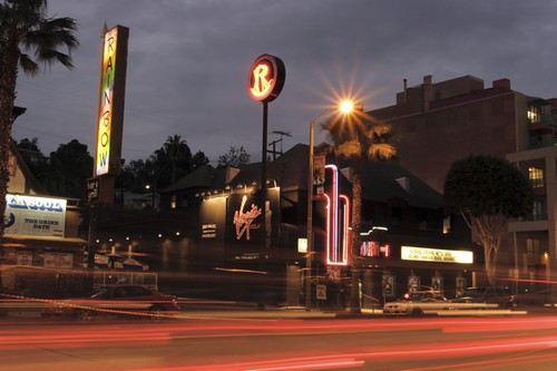 3d Classic Wallpaper The Roxy Theatre Sunset Blvd Looking East Fans And
