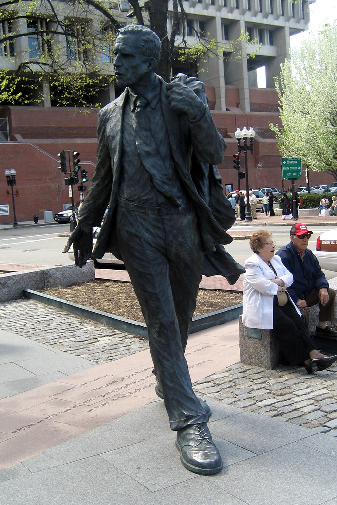 James Thomas Boston - Faneuil Hall: Mayor Kevin White Statue | One Of