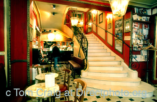 Paris Rue Le Procope Cafe, Oldest Cafe In Paris Ps-27889 | Paris