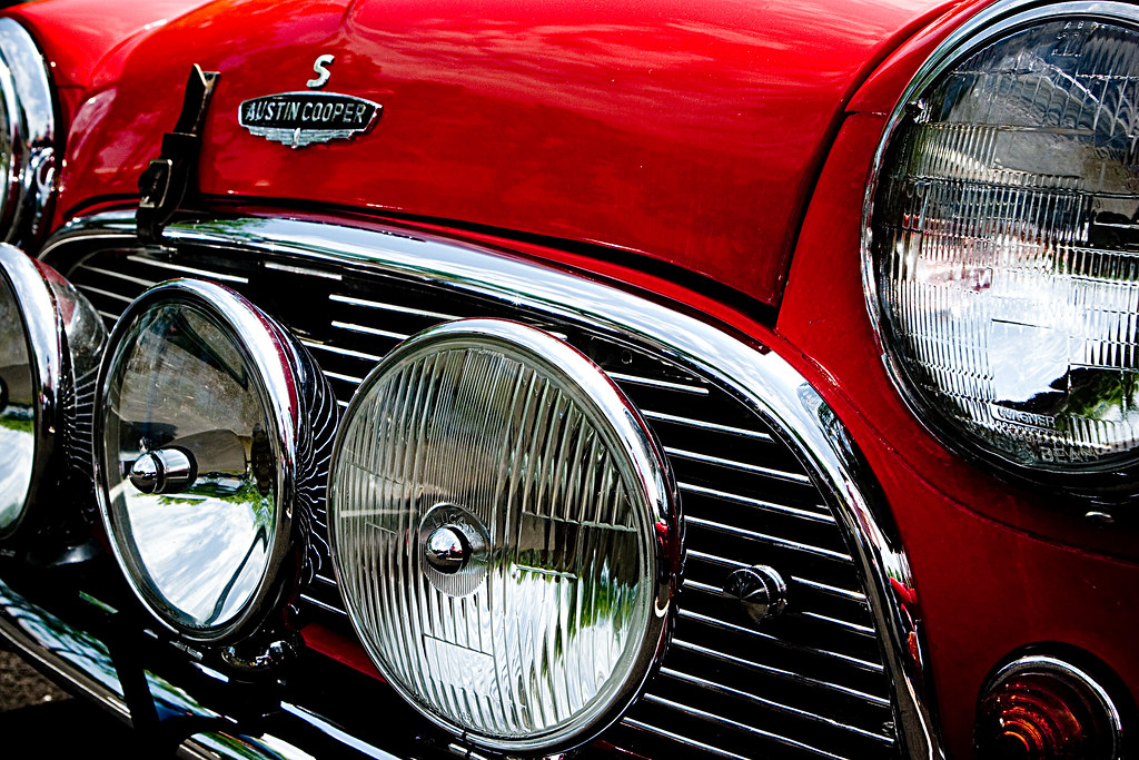 Free Classic Car Wallpaper Austin Cooper Close Up Of An Mini This Is The Austin