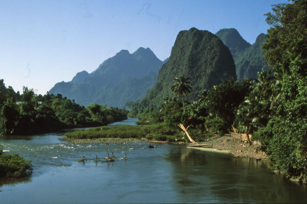 Scenery Wallpaper Hd 3d Beautiful Vang Vieng Laos Landscape The Landscape