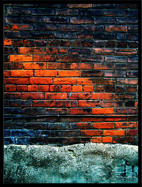 S4 Wallpaper Hd Torch Color Reveals Itself Through Painted Bricks
