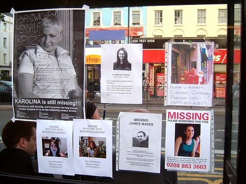 Missing person posters near King\u0027s Cross, London after ter\u2026 Flickr