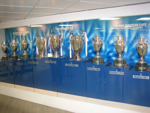 Real Madrid Wallpaper 3d 9 European Cups Real Madrid Trophy Room 201 Amonn Lawlor