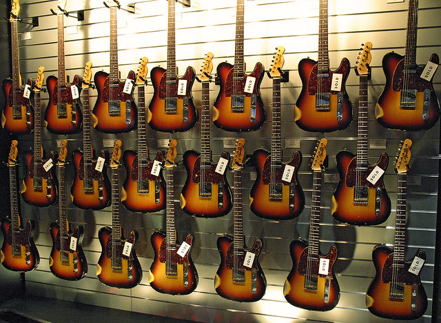 Free 3d Hd Wallpapers For Mobile Vintage Telecaster Galore Image Shows Only One Of Two