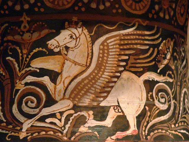 Wallpaper Horse 3d Roman Volute Krater 4th Century Bce Detail Of Pegasus Flickr