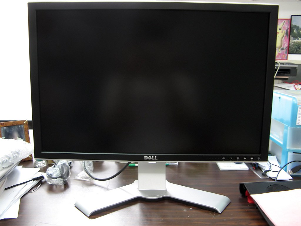 Monitor 24 Inch Dell 2407wfp 24 Inch Widescreen Ultrasharp Lcd Monitor Fr