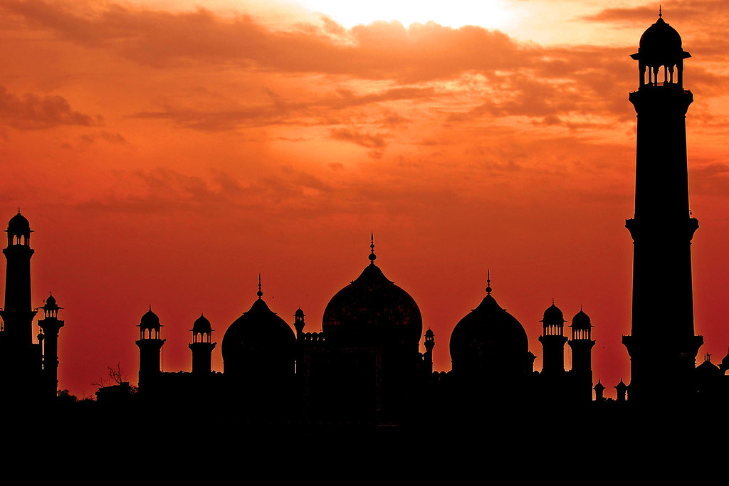 Wallpaper Sunset 3d Badshahi Mosque Lahore To Find Out More About Badshahi