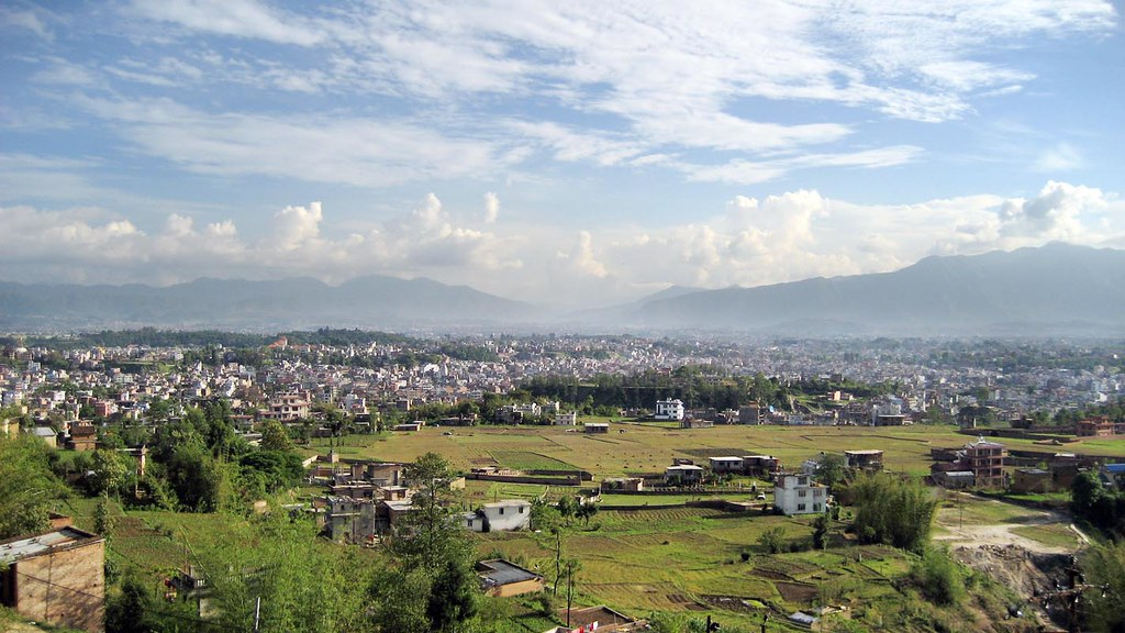 India Wallpaper 3d Kathmandu From Kapan Kathmandu City As Seen From The