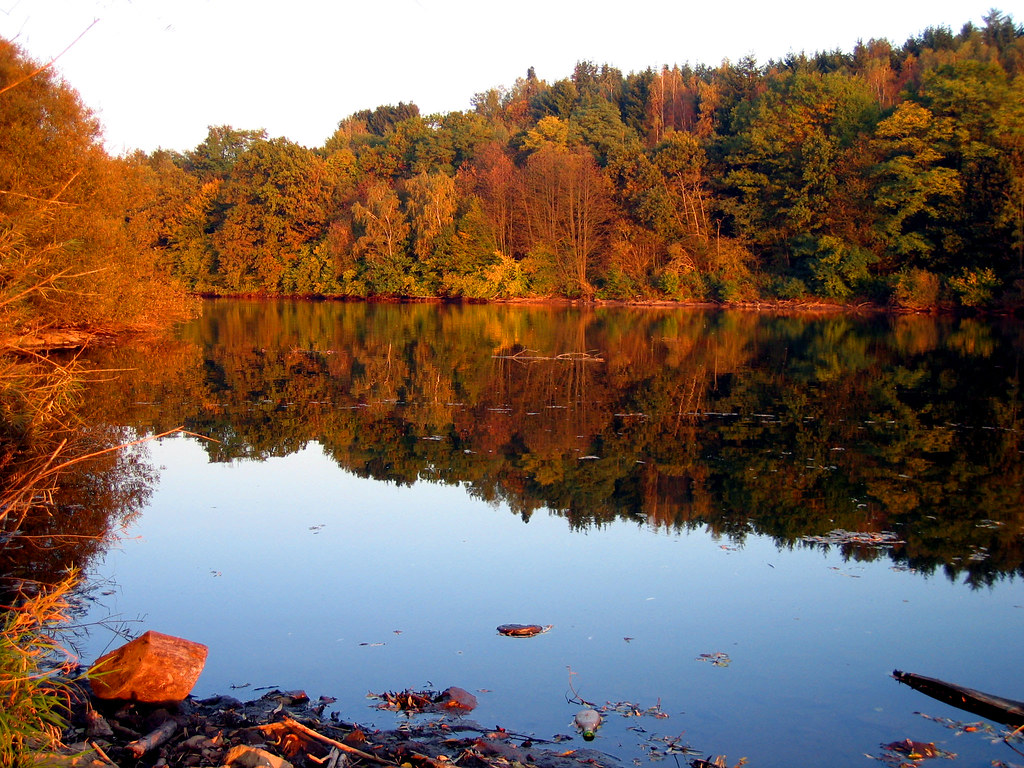 Vermont Wallpaper Fall Indian Summer Reflections At Sunset 1 Made Explore On