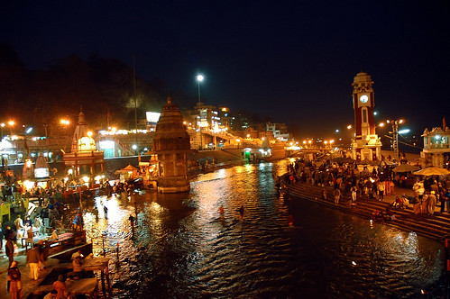 India Wallpaper 3d Hd Holy River Ganges In The Night Haridwar Haridwar