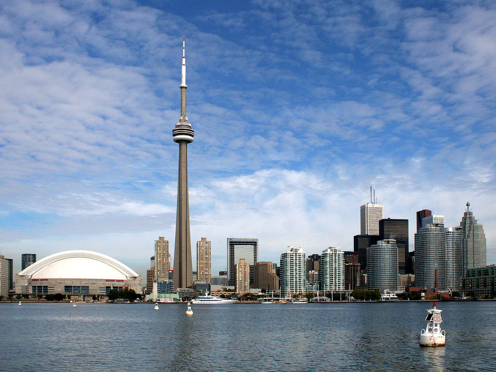 My Photo Wallpaper 3d Toronto Skyline On The Ferry To Hanlan S Point You Get A