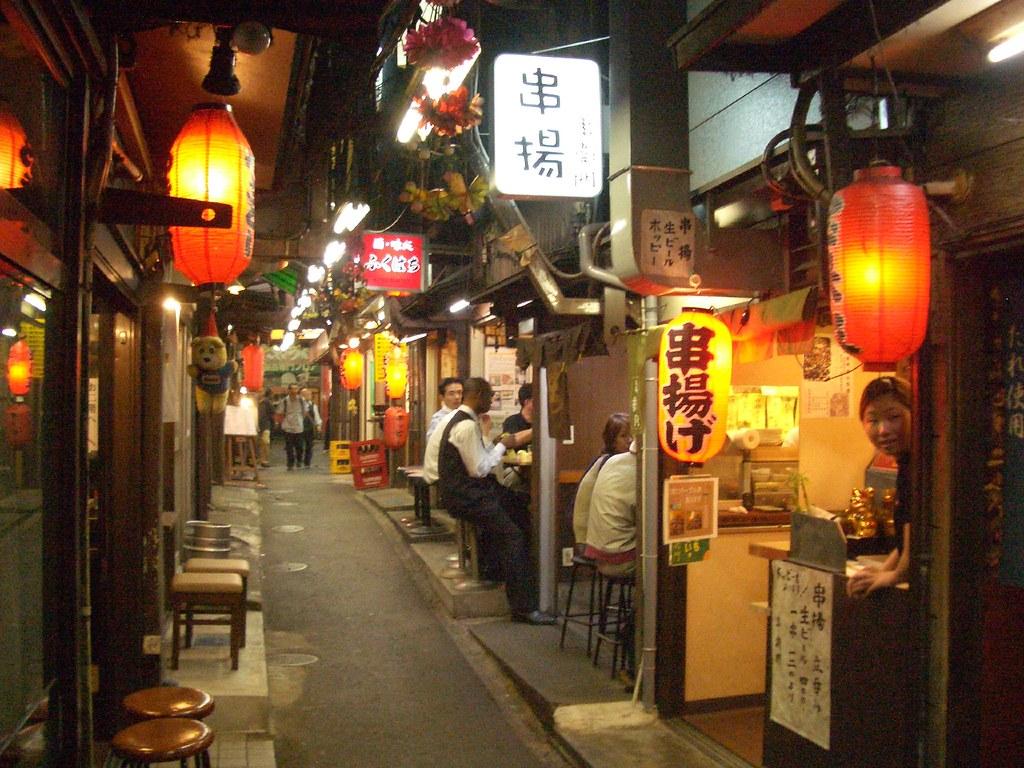 3d Interior Wallpaper Hd Restaurant Alley In Shinjuku Tokyo Marc Smith Flickr
