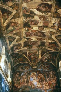 Ceiling of the Sistine Chapel | Because we were there in ...