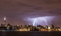 Early Morning Lightning Storm Over New York City | Anthony ...