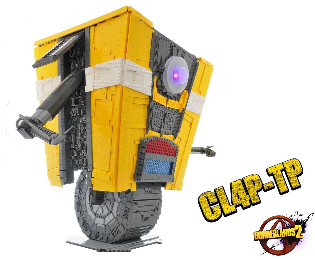 Real 3d Wallpaper Hd Claptrap Cl4p Tp General Purpose Robot One Bad Pizza