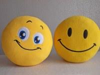 Blue eyes, smiley, smiley face, smiley pillow, smiley face ...