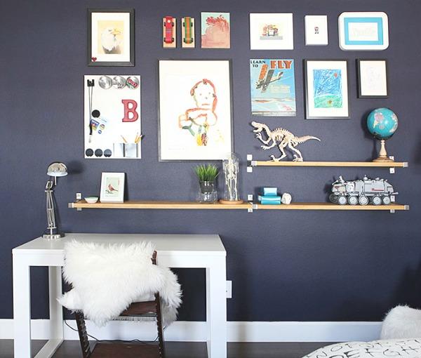 homestilo | kids gallery walls | kids space | kids room | childrens design childrens | art work | via a home for design